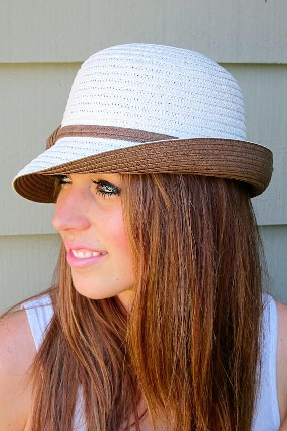 Unbalance Brim Cloche Hat with Bow SALE