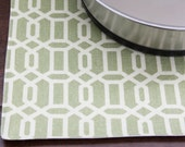 Pet-Mat (Designer Placemat for your Dog's Bowl): Large Size - LAST LARGE AVAILABLE in this color