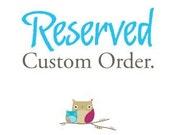 Custom Order for MAMAWEE