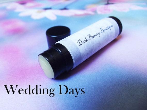 Solid Perfume Stick .15 oz - Wedding Days - Perfume Crème Travel Size - Vanilla, Apple, Lilac, and Rose
