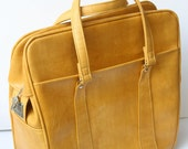 RESERVED Samsonite Yellow Tote