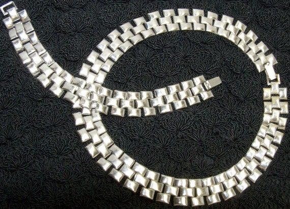 SALE-TAKE 20% OFF- Art Deco Demi Parure- Free Shipping