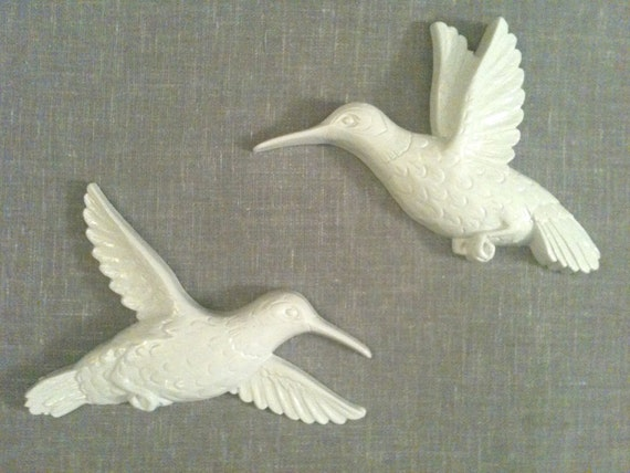 Lovely White Birds (set of 5)