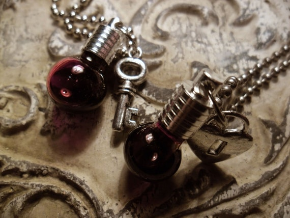 Blood Vial Pendant Kit Jewellery For Lovers Blood Vial