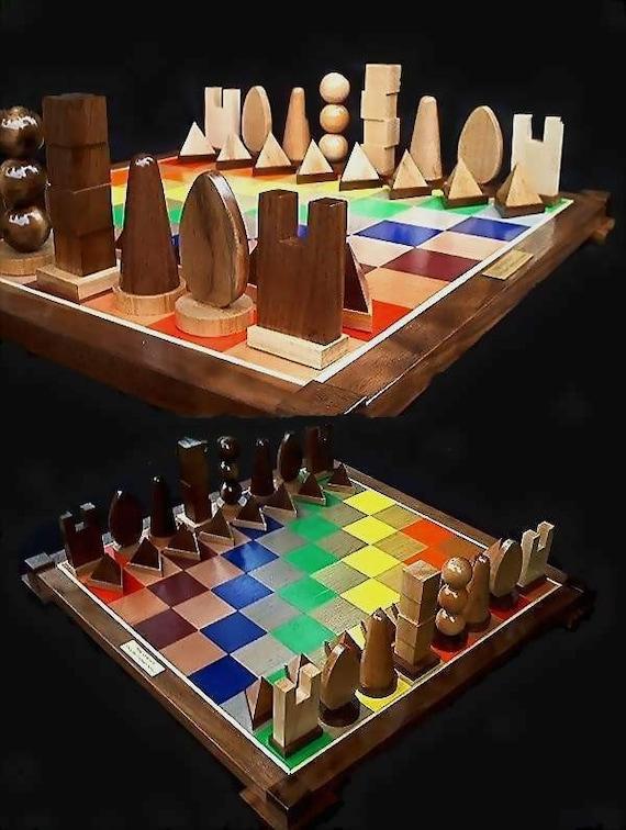 Chess Set Handmade Chess Set On Etsy Custom Carved Chess