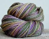 Handspun Merino / Tussah Silk - 283 yd - 2.9 oz - Iris