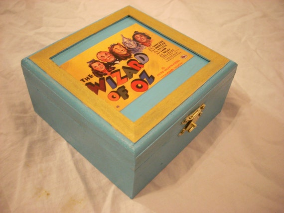 Wizard Of Oz Keepsake Jewelry Trinket Box