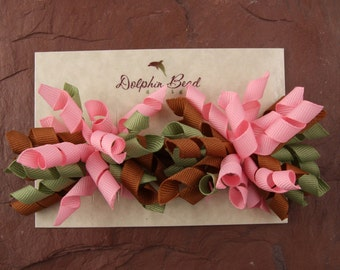 100 Custom Display Cards for Boutique Hairbows - printed with your logo or choose font/graphic