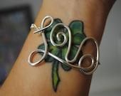 """Twisted Wire """"LOVE"""" Bracelet"""