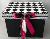 Wedding Card Box, Money Box, Gift Card Box Holder, Custom Made to Order