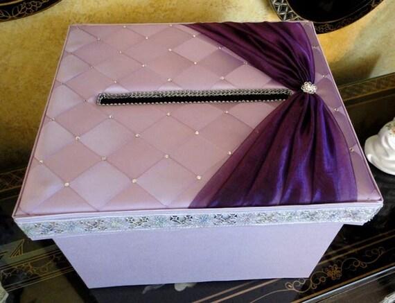Wedding Card Box Money Box Gift Card Box Holder - Custom Made to Order