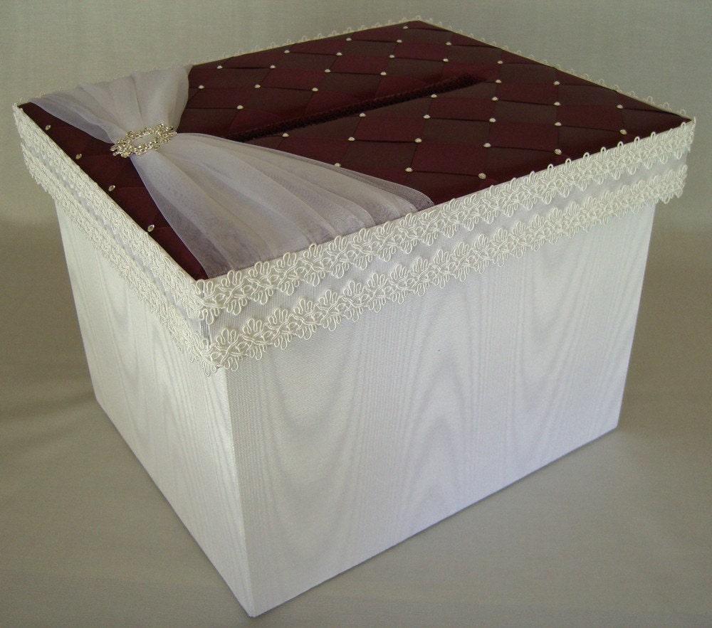 Wedding Mailbox Gift Holder : Wedding Card Box Money Box Gift Card Box Holder Custom Made
