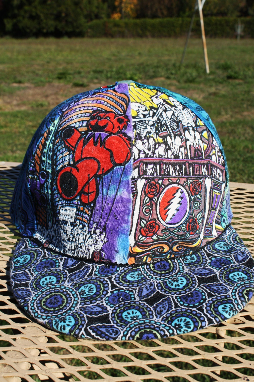 1994 Summer Tour Grateful Dead Hat On By Fatfreddyscaps On