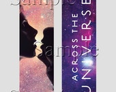 Across the Universe Laminated Bookmark