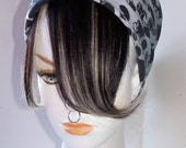 Black and White Platinum Blonde 100% Human Hair Clip in Bang Fringe Hair Extension