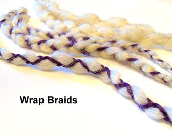 6 SE Single End Dreads Custom Synthetic Braid in Dreadlock Hair Extensions