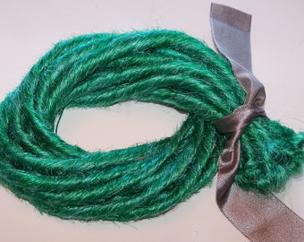 10 SE Single Ended Synthetic Dreads Seafoam Mint Light Green Dreadlock Braid Hair Extensions