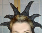 Evil horned head dress