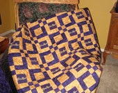 Crown Royal Quilt Made from Your Bags