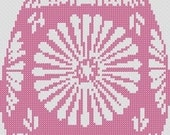 Digital Cross Stitch Pattern Easter Egg