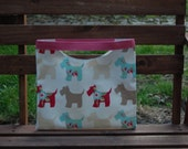 Miss Scottie - (Pink) Unique,HANDMADE OZZYbag