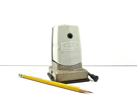 Vintage Pencil Sharpener / Boston Vacuumette Pencil Sharpener