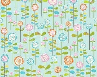 Riley Blake Designs Happier by Denna Rutter. 100% cotton pattern C5502 Blue - Happier - Garden