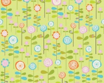 Riley Blake Designs Happier by Denna Rutter. 100% cotton pattern C5502 Green - Happier - Garden