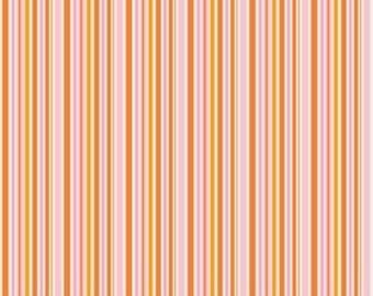 Riley Blake Designs Happier by Denna Rutter. 100% cotton pattern C5506 Pink - Happier - Stripes