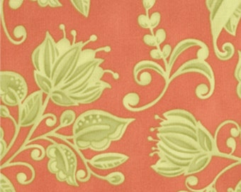 SALE - Sprit Collection by Lila Tueller for Moda Fabrics - 11431-17 Exuberance Coral