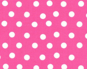 Welcome to Bear Country by the Berenstains - White dots on Pink 55506-24 Moda