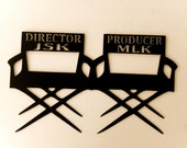 RESERVED LISTING Movie,Home Theater,Reel,Director,Metal Art,Home,Office,Chair,Family Room,Accent