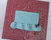 Knit Earring Holder