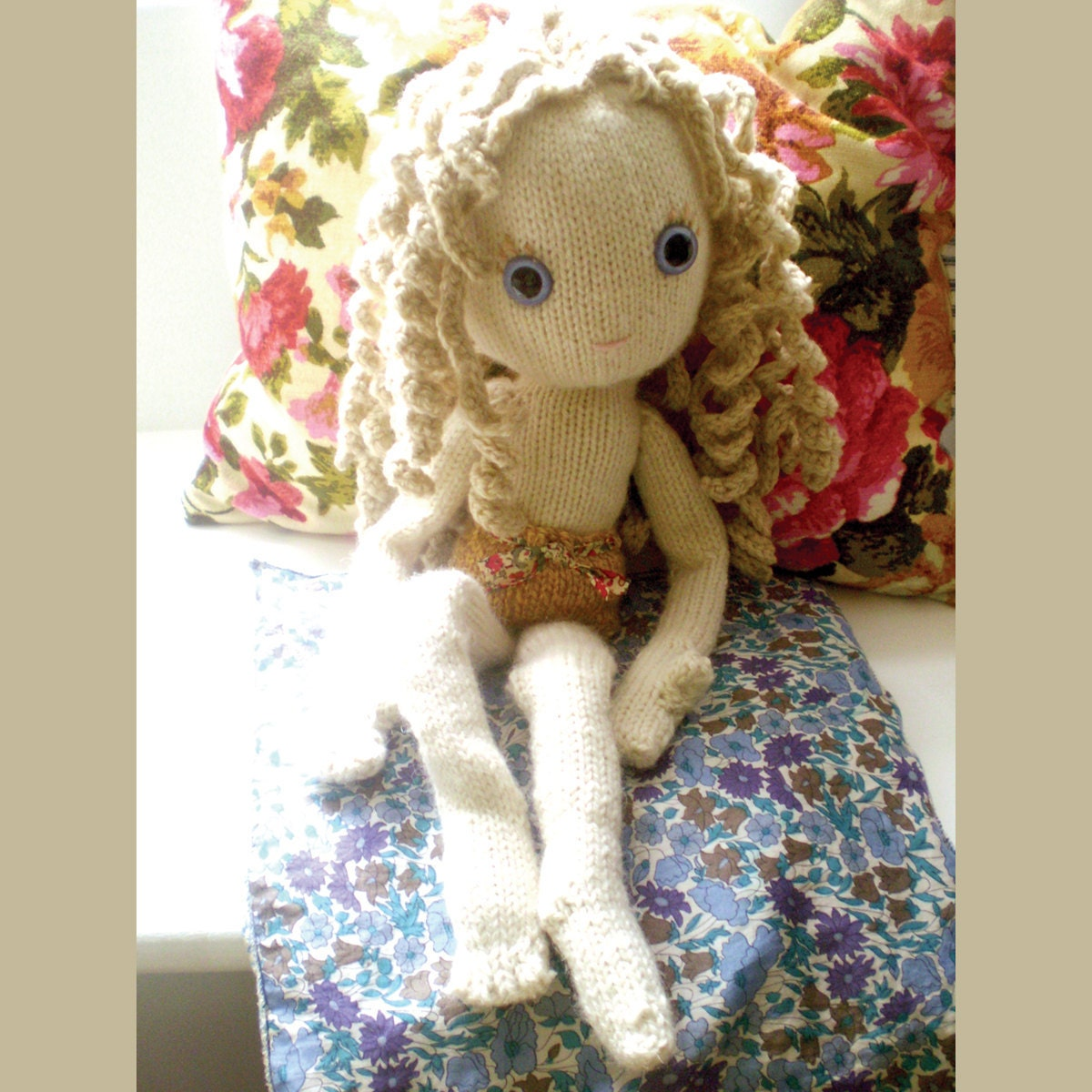 Pixie Moon new knitted doll