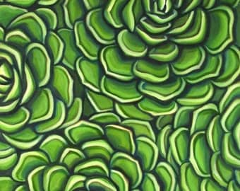"Original oil painting""So Succulent "" 18""x24"""