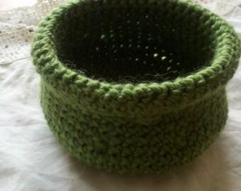 Crocheted Bowl