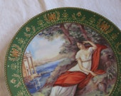 Limoges Plate Empress Josephine - Limited Edition - MOVING SALE