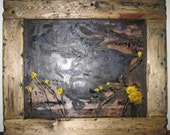 Rustic Painting Frame