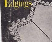 "vintage crochet pattern books, ""crochet chairbacks"" and ""handkerchief edgings"" set"