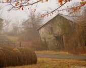 The Old Horse Barn - fine art print