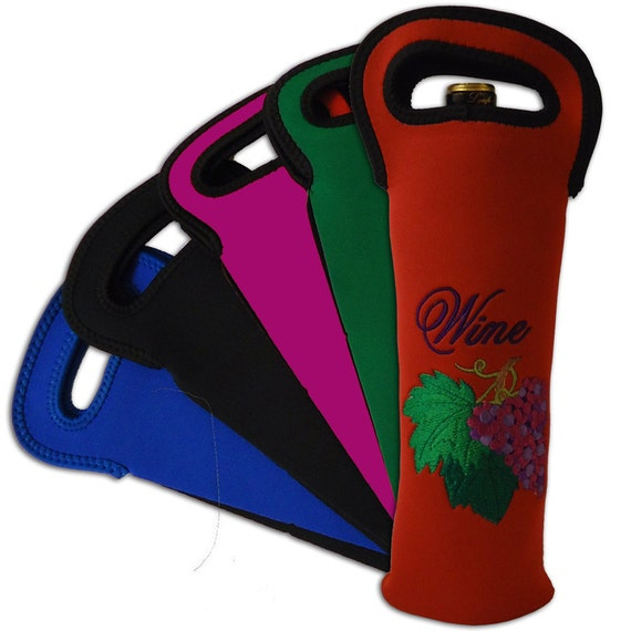 NOT just a Wine Bottle Koozie with handles, Think outside the Bottle.