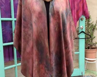 Wing Coat Pre-Sewn Dye-Ready Silk Garment Kit