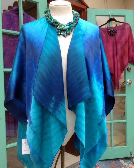 Petite Cocoon Pre-Sewn Dye-Ready Silk Garment Kit