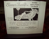 Old Ad Eleanor Beard out of House and Garden 1927 paper
