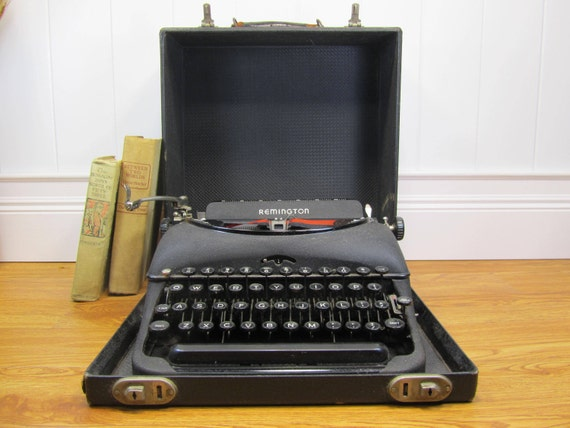 Antique Manual Typewriter - Remington Portable Model 5