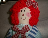 Raggedy Ann Doll: One Of A Kind