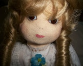 Bo Peep Doll with Ringlets and Long Dress