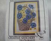 Vintage Crewel Stitchery Kit
