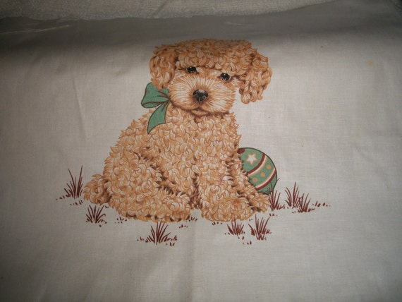 Poodle Pillow Top Panel