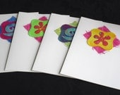 Handmade Greeting Cards, Mixed Media Art